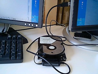 HDD USB2.0変換ケーブル